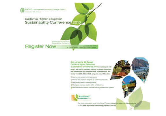 Sustainability Conference Postcard