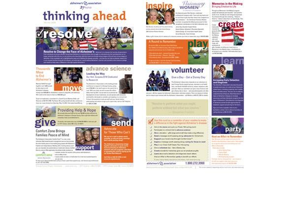 Alzheimer's Assoc. newsletter