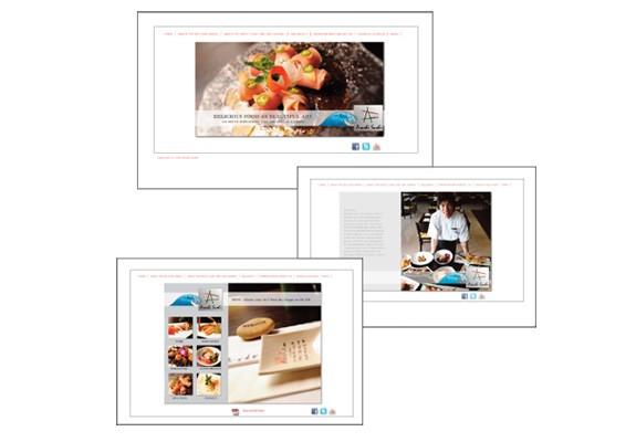 Arashi Sushi Website
