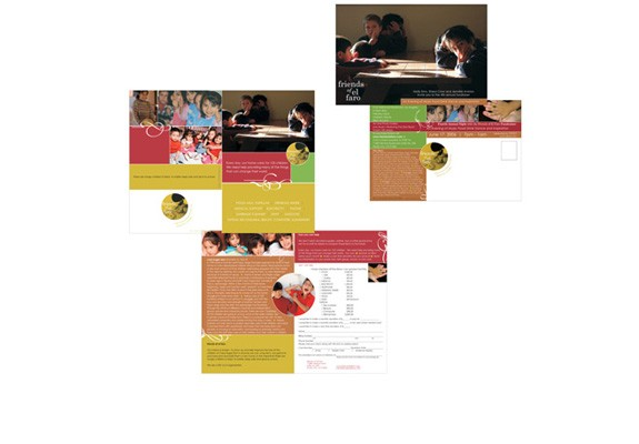Friends of El Faro Brochure & Collateral