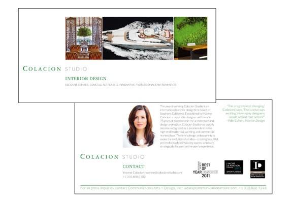 Colacion Studio postcard