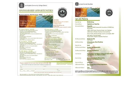 USGBC-LA Gala materials