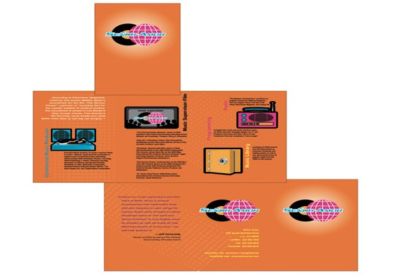 DJ Senore Amor Marketing Brochure