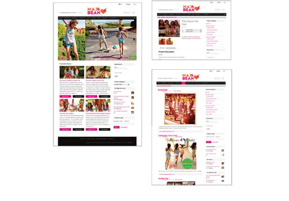 Max & Bean Website