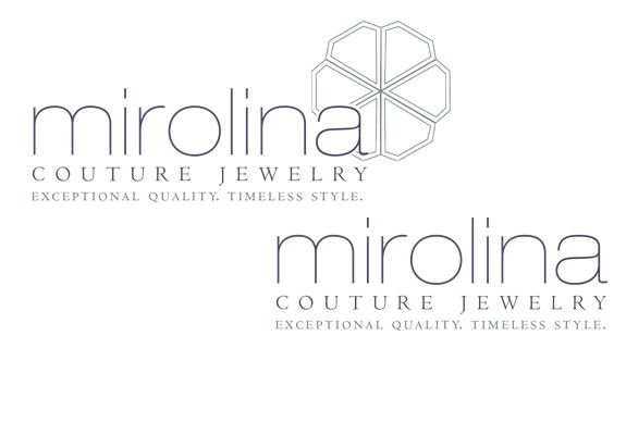 Mirolina Jewelry Logo Design