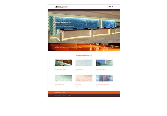ultraglas-website