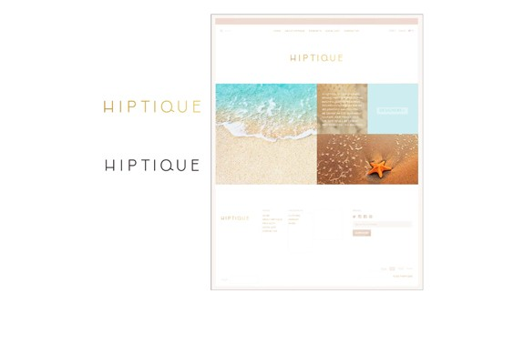 Hiptique-Logo and-Website-Design_