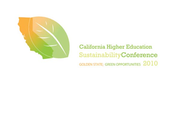 California Higher Education Sustainability Conference Logo Design