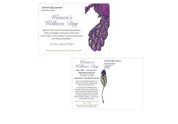 Alzheimer's Assoc. Womens Wellness invite