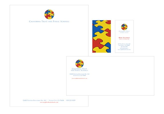 California Trust for Public Schools Stationery