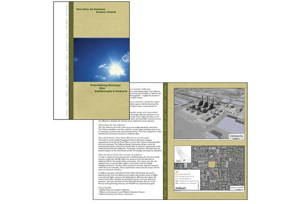 City of Vernon brochure
