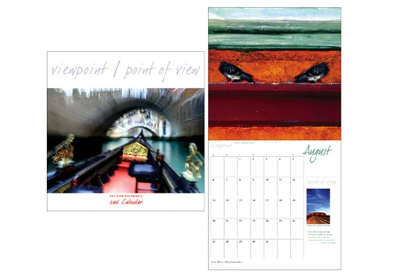 Ken Ross Photography Calendar