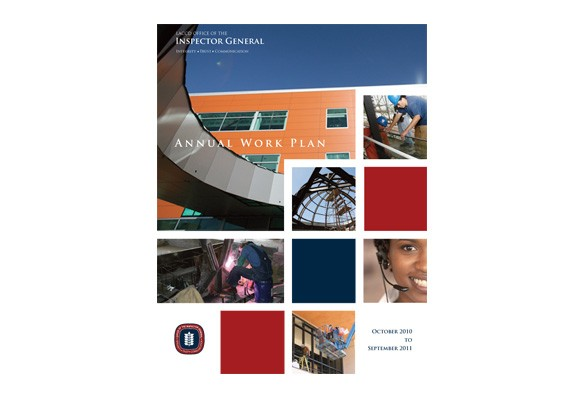 LACCD Office of Inspection Annual Work Plan Report Cover