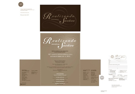 Mexican American Bar Assoc. Gala invitation