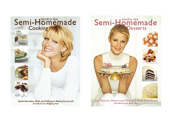 Sandra Lee cookbooks