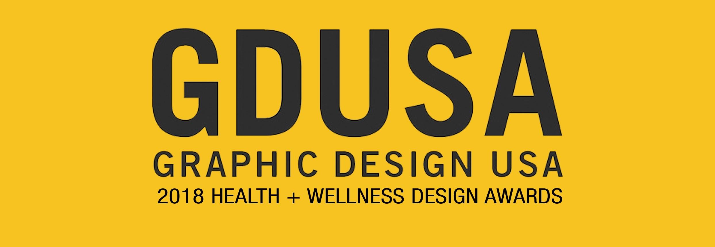 LDM wins 3 Graphic Design USA2018 Health + WellnessAwards!